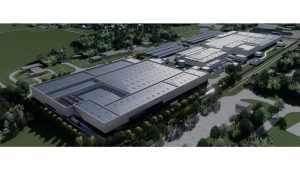 battery manufacturing complex in Europe
