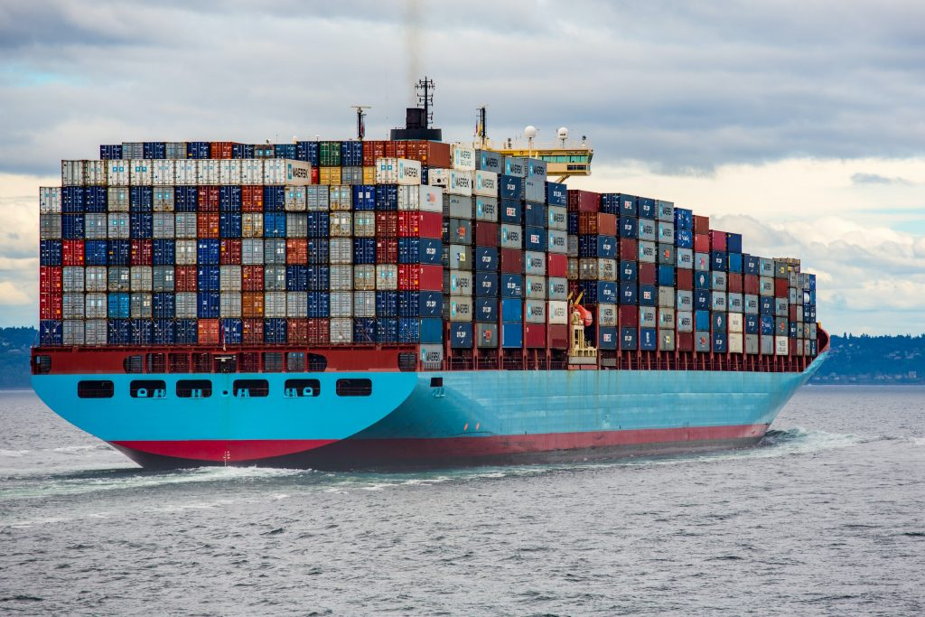 cargo ship delivery in suez is carbon-free