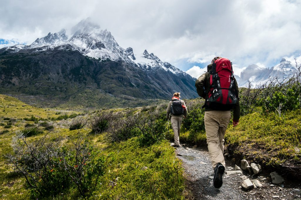 sustainable travel in the mountains